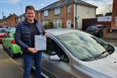 Well done to Péter on passing his driving test today on the first attempt in Kettering!  Stay safe!  Congratulations from Péter and the Team at Three Shires Driving Centre Ltd!