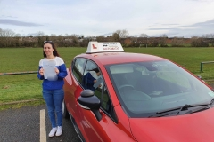 Well done to Safae on passing her driving test today in Wellingborough!  Stay safe!  Congratulations from Péter and the team at Three Shires Driving Centre Ltd!