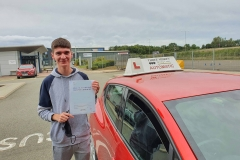 Well done to Callum on passing his driving test today in Kettering on the first attempt!  Stay safe!  Congratulations from Péter and the team at Three Shires Driving Centre Ltd!