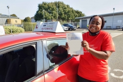 Well done to Wadzi on passing Her driving test today on the first attempt in Kettering! Stay safe! Congratulations from Péter and the team at Three Shires Driving Centre Ltd!