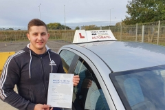 20201010_085Well done to Tibor on passing his driving test today in Kettering!  Stay safe!  Congratulations from Péter and the team at Three Shires Driving Centre Ltd! 231-002