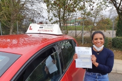 Well done to Cassy on passing Her driving test on the first attempt in Kettering!  Stay safe!  Congratulations from Péter and the team at Three Shires Driving Centre Ltd!