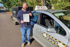 Well done to Scott on passing his car and trailer (B+E) test today on the first attempt in Weedon!  Stay safe!  Congratulations from Péter and the team at Three Shires Driving Centre Ltd!