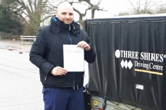 Congratulations to Craig for passing his B+E Towing test on the first attempt today in Leighton Buzzard. Craig had never towed before and smashed the test after just one and a half days of training. Well Done, Drive Safe James and the team at Three Shires Driving Centre02