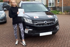 Huge congratulations to Hannah for passing her driving test in Luton today. Conquered those nerves and even got complimented by the examiner.  Well Done, Drive Safe James and the team at Three Shires Driving Centre