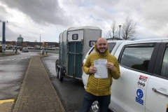 Congratulations to Ben on passing his B E test in Peterborough, well done from George and the Three Shires team.