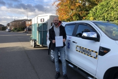 Huge congrats to Alfie on passing his B E test in Peterborough, no doubt I will see you on the road as you just live around the corner!  All the best from George and the Three Shires team.