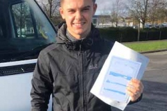 Congratulations Ashley from Chesterton Community College, Cambridge on passing your D1 minibus test. Great result only 1 driving fault!  From Neville and Three Shires Driving Centre Ltd