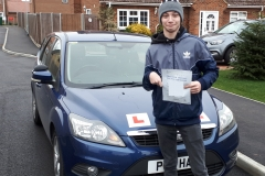 Fantastic start to 2020 for Jack who passed his driving test on the 1st attempt today in Cardington. It's been a long road but we got there and now you've gained another step to being independent. Well Done, Drive Safe