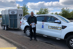 Massive congratulations to Asa from Bedford on passing his B E test in Peterborough with a clean sheet, not many get 0 faults so you . All the best from George and the Three Shires Driving Centre Ltd Team