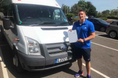 Congratulations Edward of Ousedale School, Olney on passing your D1 minibus test easily 1st attempt. Best wishes from Neville and Three Shires Driving Centre Ltd