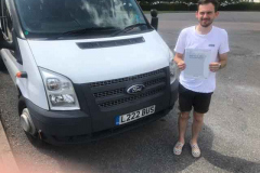 Big congratulations to Zac from Romsey Mill on passing your D1 minibus test first time. Excellent standard, well done. From Neville and Three Shires Driving Centre Ltd