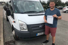 Congratulations to Tom from Stanground Academy, Peterborough on passing your D1 minibus test first attempt with only 1 driving fault! Excellent standard. Well done from Neville and Three Shires Driving Centre Ltd.