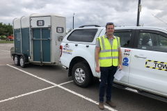 Congratulations Tom on passing your B E test with zero faults, not many get zero! All the best with the farming , George and the Three Shires Driving Centre Ltd team.